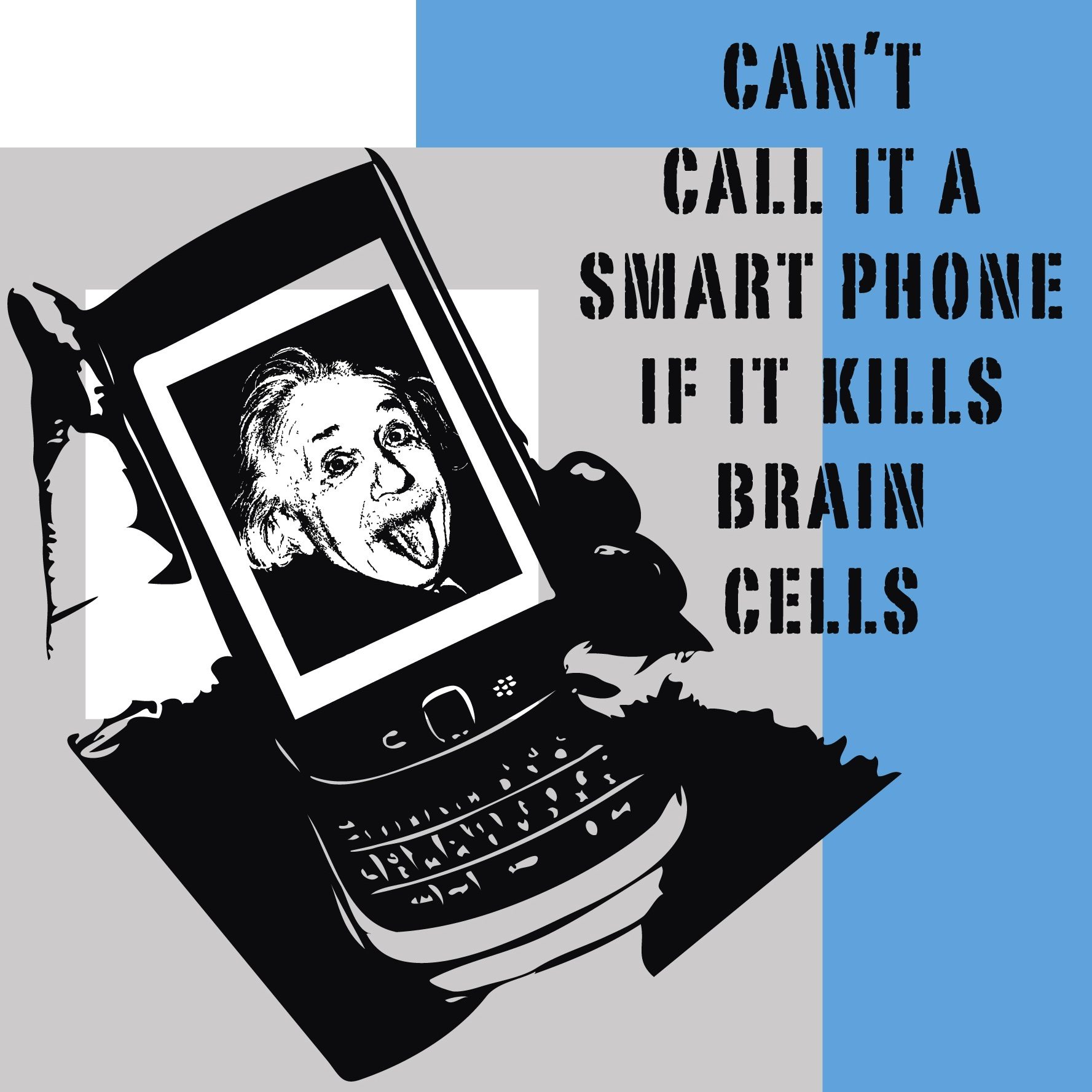 Cant call it a smartphone if it kills brain cells